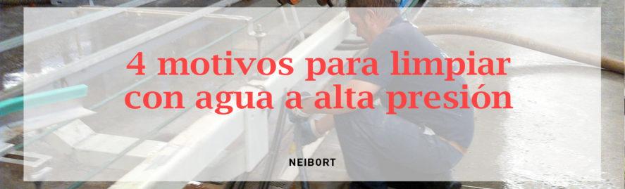 limpieza agua a alta presion industrial vila-real